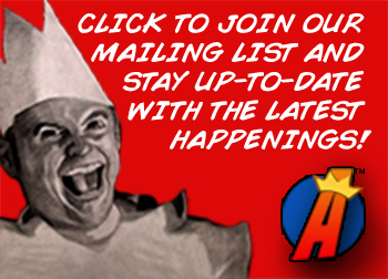 Join the Action Figure King Mailing List to Stay in Touch