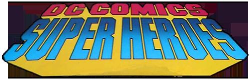 DC Comics Super Heroes Die Cast Metal Figures