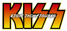 Kiss 8-Inch Action Figures from Figures Toy Company