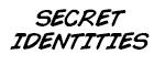 Mego 8-Inch Secret Identities Action Figures
