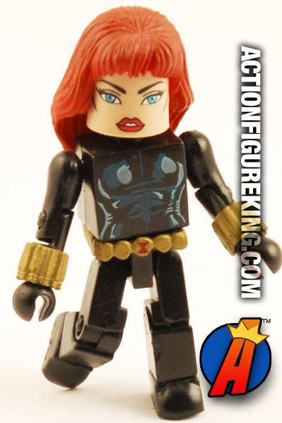 Marvel Minimates Black Widow figure from The Champions Box Set