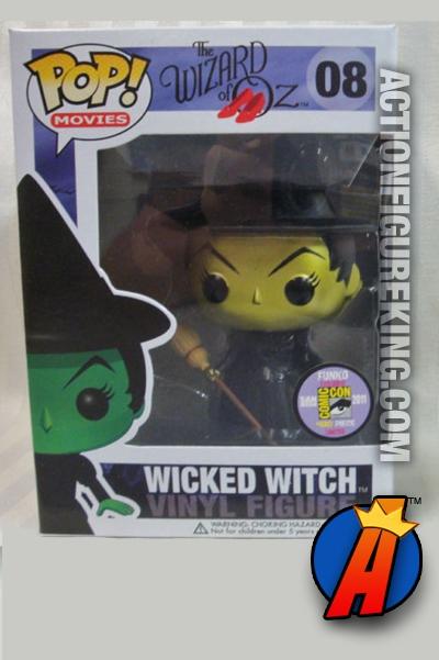 Funko Pop Movies Wizard Of Oz Metallic Wicked Witch Vinyl