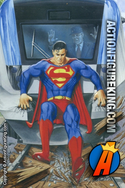 Superman Train 500 Piece Puzzle From Fusion Toys