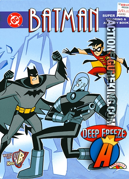 Batman Deep Freeze Coloring Book From Landolls