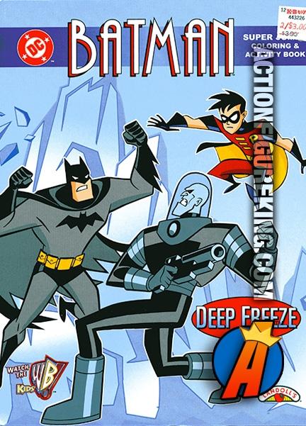 Batman Deep Freeze Coloring Book From Landolls