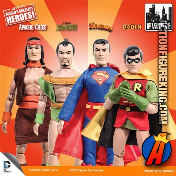 Apache Chief by FTC Super Friends Retro Style Action Figures Series 1