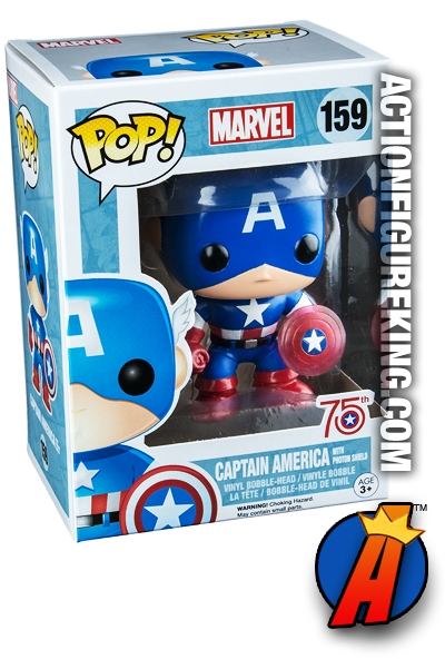 Funko Pop Marvel 75th Anniversay Kohl S Exclusive Captain