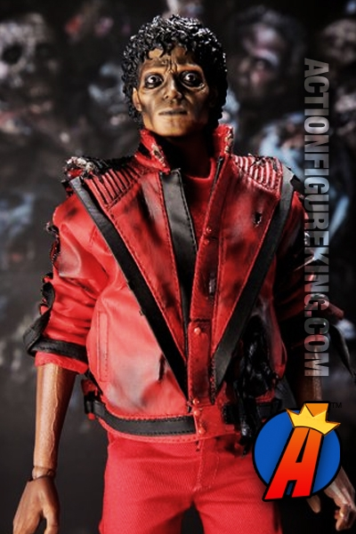 Michael jackson thriller sixth scale action figure from for Three jackson toy