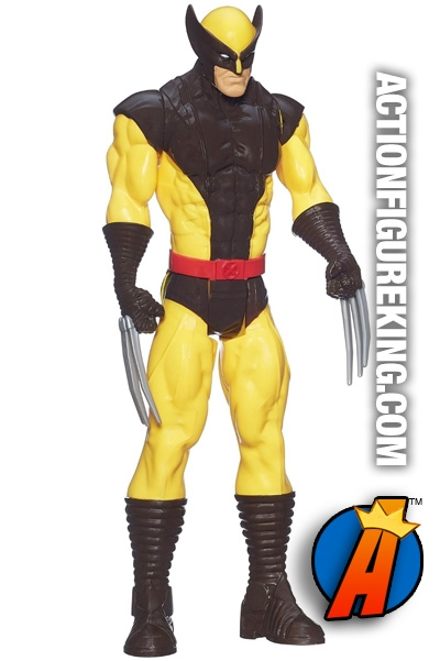 "MARVEL/'s WOLVERINE by Hasbro ~ TITAN HERO SERIES ~ 12/"" Action Figure ~ NEW"