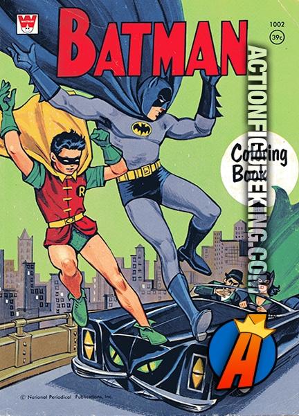 1967 Batman Whitman Coloring Book