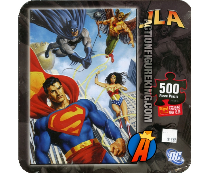Justice League Of America Lasso 500 Piece Puzzle From