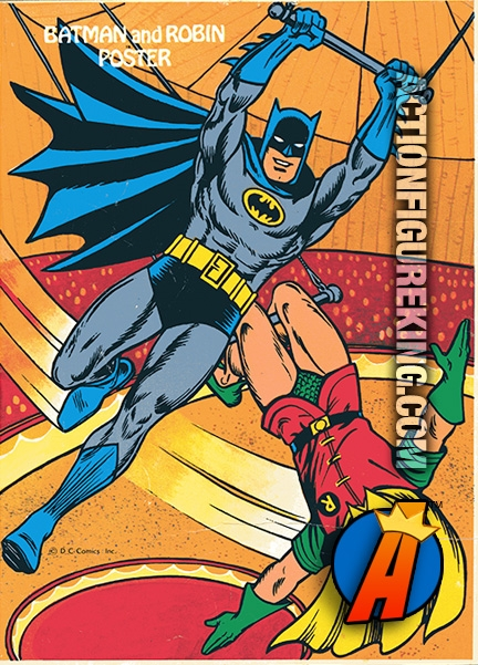 Rear cover artwork from this 1979 Batman coloring and activity book.  sc 1 st  Action Figure King & Batman 1979 Tent Full of Trouble Whitman Coloring Book