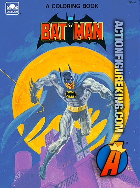 Batman Coloring Book from Golden 1229-14
