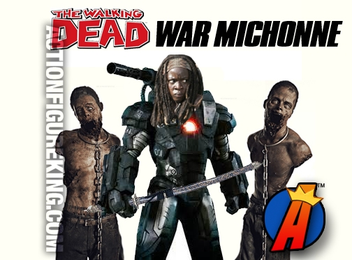 Avengers And Walking Dead Mash Up War Michonne