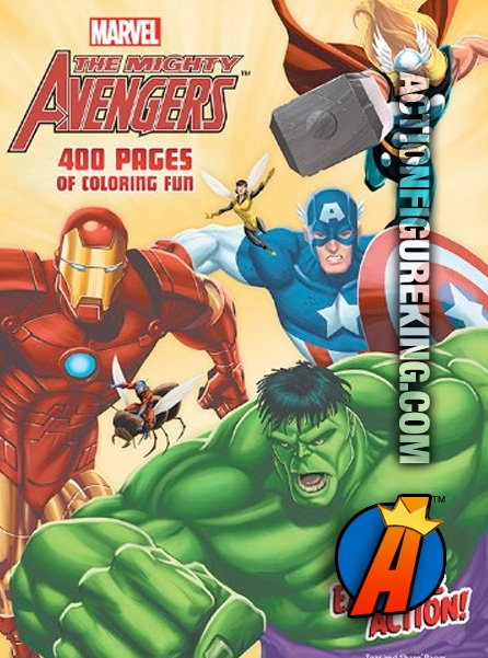 The Mighty Avengers 400-Page Coloring Book from Dalmation Press