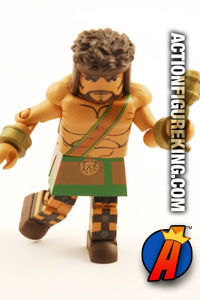 Marvel Minimates Hercules figure from The Champions Box Set
