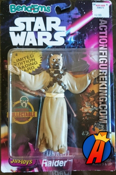 Star Wars Bend-Ems Obi-Wan Kenobi Figure by JusToys