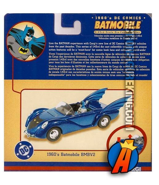 1960s Batmobile BMBV2 1:43rd Scale Vehicle from Corgi