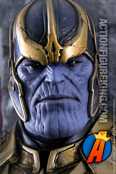 Guardians Of The Galaxy Sixth Scale Thanos Action Figure From Hot Toys