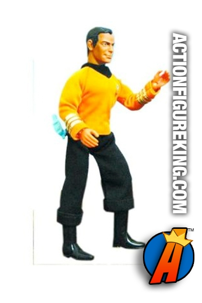 Khan 8 Inch Mego Retro Cloth Star Trek Action Figure From