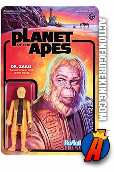 """Planet of the Apes Version 2 Dr ZAIUS New 7/"""" Figure Series 2 Maurice Evans"""