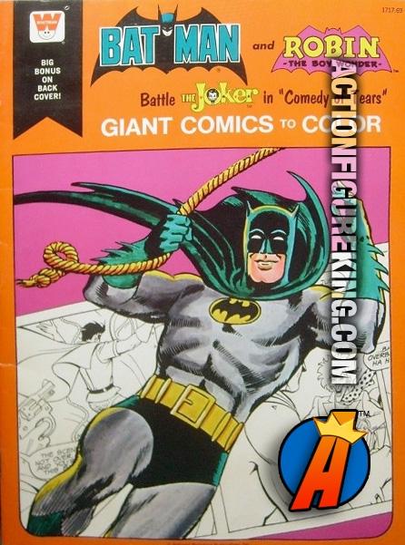 Batman and Robin Battle the Joker in Comedy of Tears Giant Whitman ...