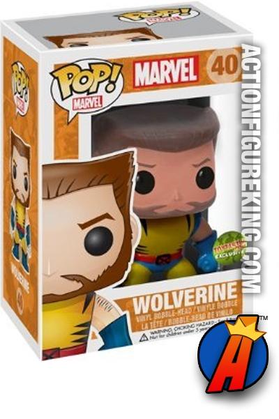 Funko Pop Marvel Unmasked Wolverine Vinyl Figure 40