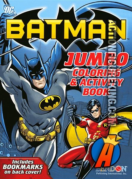 Batman Jumbo Coloring Book From Bendon