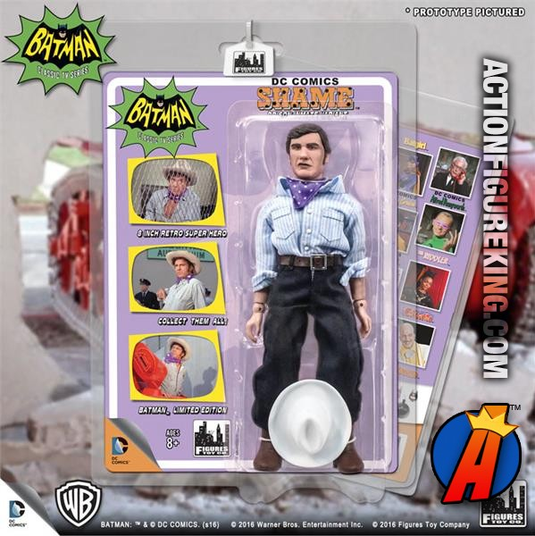 Batman Classic TV Series 8 Inch Action Figures Series 3 Shame Figures Toy Co.