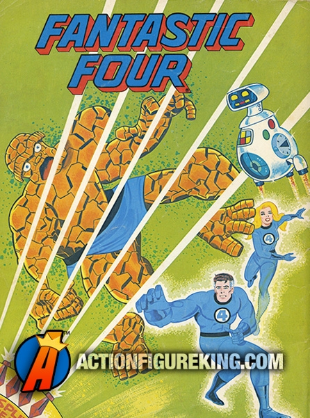 Fantastic Four Herbie the Robot 1979 Whitman Coloring Book