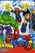 Spider-Man And Friends 25-Piece Jigsaw Puzzle from RoseArt.