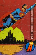 1973 American Publishing Corporation 81-Piece Superman Jigsaw Puzzle.