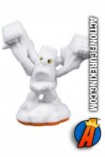 Skylanders Giants variant white flocked Stump Smash figure from Activision.