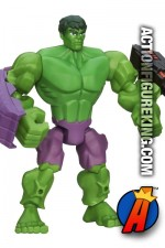 Fully articulated 6-inch Marvel Super Hero Mashers Hulk action figure from Hasbro.