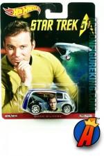 HOT WHEELS 2016 STAR TREK Captain Kirk Quick D*livery die-cast vehicle.