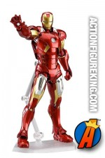 From the The Avengers comes a Figma of the world's most powerful CEO - Iron Man wearing his Mark VII suit.