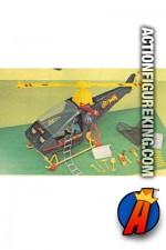 Mego Batman Batcopter vehicle.