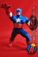 MARVEL Comics Avengers CAPTAIN AMERICA PVC figure circa 1989.