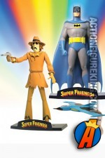 Batman and Scarecrow deluxe figures from DC Direct circa 2003.