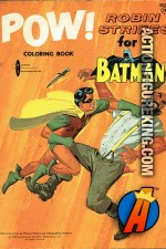 Robin Strikes for Batman coloring book from Watkins Strathmore.