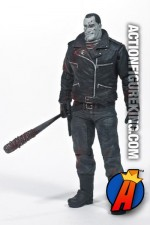 An exclusive Skybound Walking Dead Negan figure from McFarlane Toys.