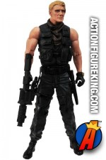 The EXPENDABLES 2 GUNNER JENSEN 7-inch scale action figure from DST.