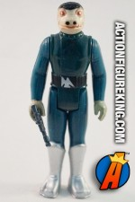 3.75-inch Star Wars SNAGGLETOOTH action figure from Kenner circa 1978.