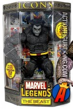 12 Inch Marvel Legends Gray Variant Beast from their short-lived Icons series.
