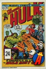 24 of 24 from the 1978 Drake's Cakes Hulk comics cover series.