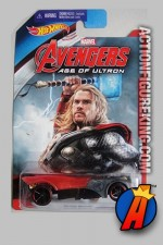 Avengers Age of Ultron Thor Buzz Bomb die-cast vehicle from Hot Wheels.