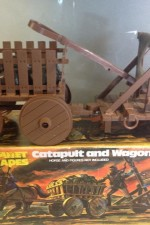 Mego Planet of the Apes Catapult and Wagon playset.