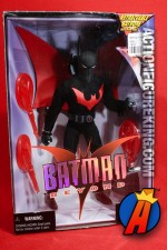 A packaged sample of this 9-inch scale Batman Beyond action figure from Hasbro.