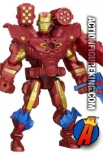 Fully articulated 6-inch Marvel Super Hero Mashers Iron Man action figure from Hasbro.