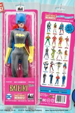 2018 DC COMICS 12-inch BATGIRL action figure with removable cowl and plastic belt in the MEGO stlye from FTC